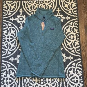 NWT Patagonia better sweater 1/4 zip